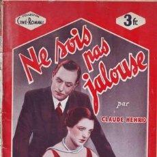 Cine: HENRIO, CLAUDE: NE SOIS PAS JALOUSE!. D'APRÈS LE FILM DE LA PRODUCTION UNIVERSAL AVEC CARMEN BONI . Lote 120061451
