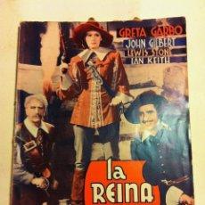 Cine: A REINA CRISTINA DE SUECIA- MUY BIEN CONSERVADO. Lote 121755359