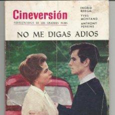 Cine: CINEVERSIÓN NO ME DIGAS ADIOS INGRID BERGMAN. Lote 123143147