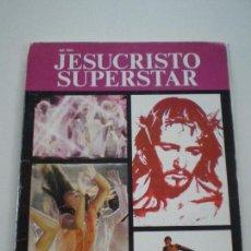 Cine: JESUCRISTO SUPERSTAR - TALLER EDICIONES JB 1974 // HIPPIE FILM NORMAN JEWISON FOTOS DAVID JAMES. Lote 125040751