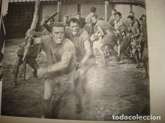 Cine: ESPARTACO - STANLEY KUBRICK (MAUCCI, 1960) CON FOTOS DEL FILM - GRAN FORMATO - Foto 2 - 171604623