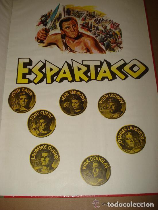 Cine: ESPARTACO - STANLEY KUBRICK (MAUCCI, 1960) CON FOTOS DEL FILM - GRAN FORMATO - Foto 3 - 171604623