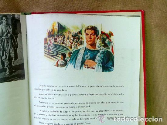 Cine: ESPARTACO - STANLEY KUBRICK (MAUCCI, 1960) CON FOTOS DEL FILM - GRAN FORMATO - Foto 5 - 171604623