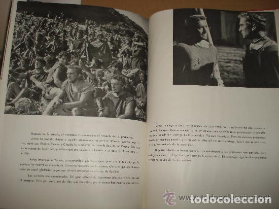 Cine: ESPARTACO - STANLEY KUBRICK (MAUCCI, 1960) CON FOTOS DEL FILM - GRAN FORMATO - Foto 6 - 171604623