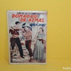 Cine: BIBLIOTECA FILMS - DOMADOR DE ALMAS- CHARLES BUCK JONES Nº 638 AÑO XII. Lote 125399031