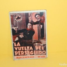 Cine: BIBLIOTECA FILMS - LA VUELTA DEL PERSEGUIDO Nº 597 KEN MAYNARD - AÑO XI. Lote 125402635