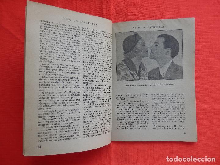 Cine: trio de estrellas, novela edit. cisne, 1940, a estrenar, 64 pág. - Foto 4 - 127871735