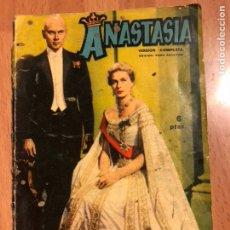 Cine: ANASTASIA FOTO FILM DE BOLSILLO.INGRID BERGMAN YUL BRYNNER. Lote 128393023