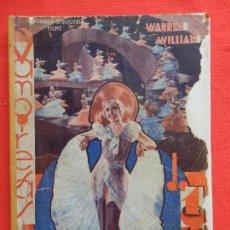 Cine: VAMPIRESAS DE 1933, NOVELA, EDIC. BIBLIOTECA FILMS, WARREN WILLIAM, 72 PÁGINAS. Lote 128872523