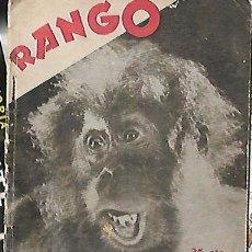 Cinema: RANGO - LA PELÍCULA NUEVA -PUBLICACIÓN CINEMATOGRÁFICA SEMANAL-Nº 1(PARAMOUNT). Lote 128981535