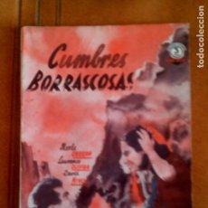 Cine: CUMBRES BORRASCOSAS ARGUMENTO DE LA PELICULA EDICIONES BISTAGNE. Lote 129028539