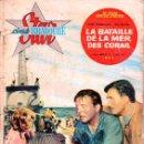 Cine: LA BATAILLE DE LA MER DES CORAIL (STAR CINE BRAVOURE, 1961) FOTONOVELA DEL FILM DE 1959. Lote 129257915