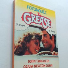 Cine: FOTONOVEL - GREASE / TRAVOLTA - OLIVIA NEWTON JOHN / 350 FOTOS COLOR / BRUGUERA 1979 / SIN USAR. Lote 130845028