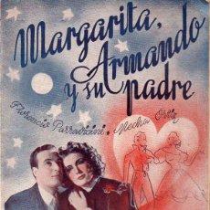 Cine: FLORENCIO PARRAVICINI : MARGARITA, ARMANDO Y SU PADRE (CINEMA, 1941). Lote 131282323