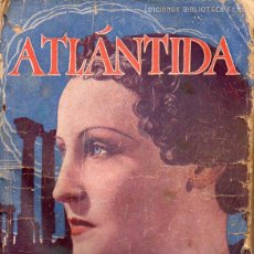Cine: BRIGITTE HELM : ATLÁNTIDA (ALAS BIBLIOTECA FILMS). Lote 131282707
