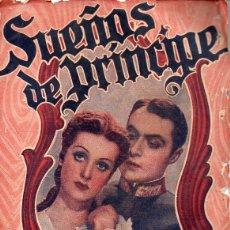 Cine: CHARLES BOYER : SUEÑOS DE PRÍNCIPE (BISTAGNE). Lote 131283055