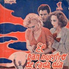 Cine: KING VIDOR : EL PAN NUESTRO DE CADA DÍA (BISTAGNE). Lote 131284619