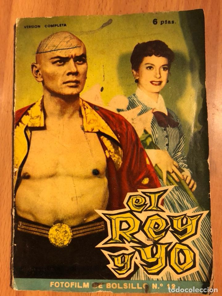 EL REY Y YO.YUL BRYNNER DEBORAH KERR.MANDOLINA (Cine - Foto-Films y Cine-Novelas)