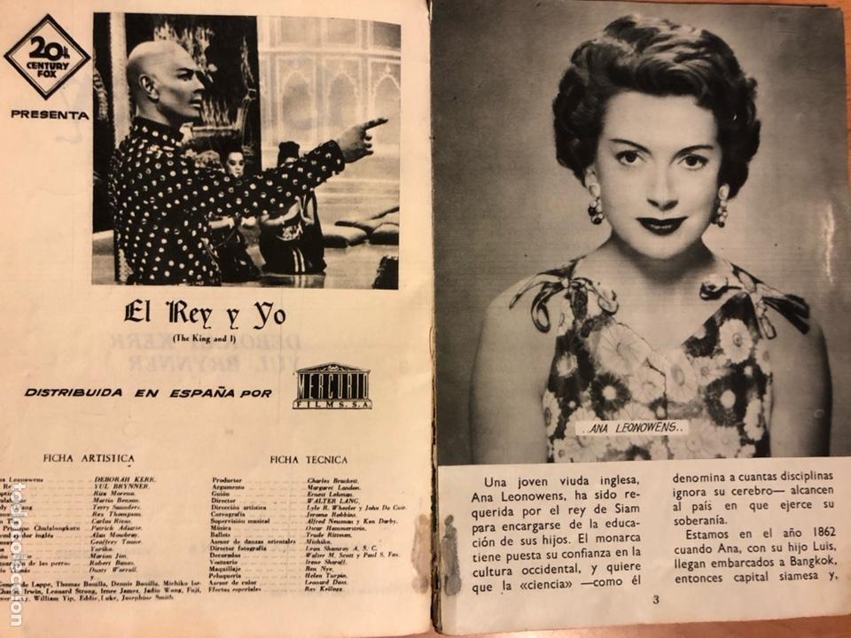 Cine: El rey y yo.yul brynner deborah kerr.mandolina - Foto 4 - 131365587