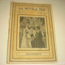 Cine: LA NOVELA FILM Nº 8 . HELIOTROPO , POR DIANA ALLEN Y FREDERIK BURTON.. Lote 132489958