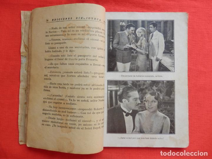Cine: la dama atrevida, novela edic. biblioteca films, ramon pereda luana alcaniz, 96 pág. - Foto 3 - 132918386