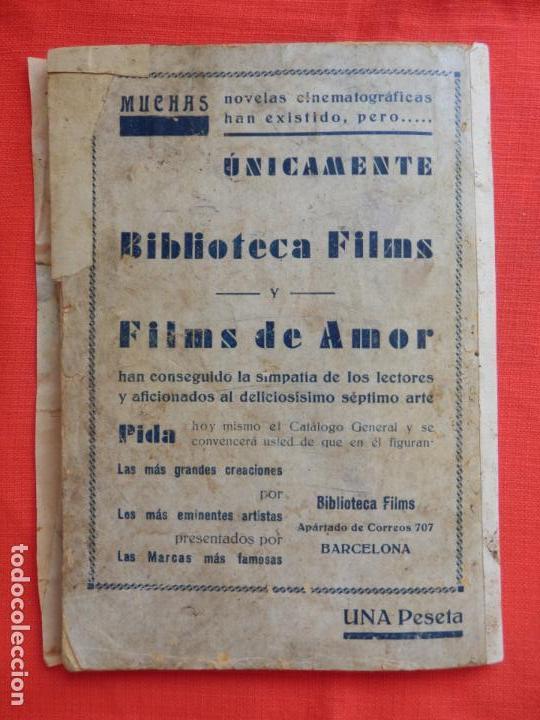 Cine: la dama atrevida, novela edic. biblioteca films, ramon pereda luana alcaniz, 96 pág. - Foto 5 - 132918386
