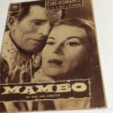 Cine: REVISTA DE CINE ROMANCE, AÑOS 50. ILUSTRADA.. Lote 134803874