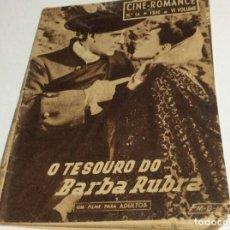 Cine: REVISTA DE CINE ROMANCE, AÑOS 50. ILUSTRADA.. Lote 134804122