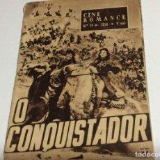 Cine: REVISTA DE CINE ROMANCE, AÑOS 50. ILUSTRADA.. Lote 134805390