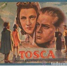 Cine: CINEVIDA, TOSCA, IMPERIO ARGENTINA. Lote 183401547