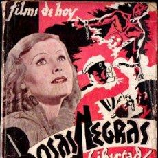 Cine: ROSAS NEGRAS, UN GRITO DE LIBERTAD - FILMS DE HOY Nº 1. Lote 138652517