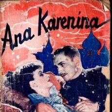 Cine: GRETA GARBO : ANA KARENINA (BISTAGNE, 1936). Lote 138653262