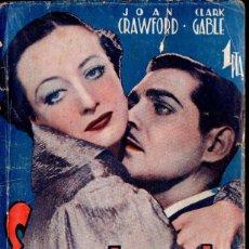 Cine: JOAN CRAWFORD - CLARK GABLE : ENCADENADA (BISTAGNE). Lote 138655586