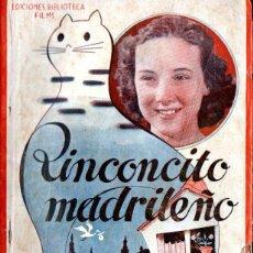Cine: RINCONCITO MADRILEÑO - LEON ARTOLA (BIBLIOTECA FILMS). Lote 138656410