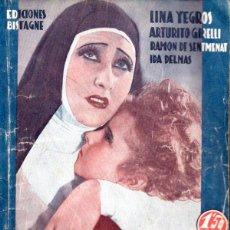 Cine: LINA YEGROS - SOR ANGÉLICA (BISTAGNE, S.F.) . Lote 138950414