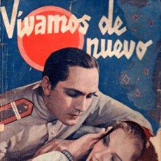 Cine: MARCH / STEN - VIVAMOS DE NUEVO (BISTAGNE, 1935) BASADA EN LA OBRA RESURRECCIÓN DE TOLSTOI. Lote 138950514