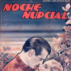 Cine: GARY COOPER - ANNA STEN : NOCHE NUPCIAL (BIBLIOTECA FILMS). Lote 138950786