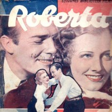 Cine: FRED ASTAIRE - GINGER ROGERS : ROBERTA (BIBLIOTECA FILMS). Lote 138951186