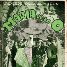 Cine: PASTORA IMPERIO / CARMEN AMAYA : MARIA DE LA O (BIBLIOTECA FILMS). Lote 155846724