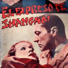 Cine: MARLENE DIETRICH : EL EXPRESO DE SHANGHAI (BIBLIOTECA FILMS, S.F.). Lote 138952210