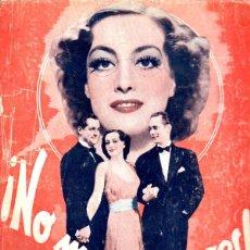 Cine: JOAN CRAWFORD - ROBERT MONTGOMERY : NO MÁS MIJERES (BISTAGNE, 1936). Lote 232287365