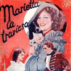 Cine: JEANETTE MACDONALD : MARIETTA LA TRAVIESA (BISTAGNE, 1936). Lote 138953246