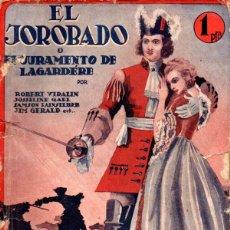 Cine: EL JOROBADO O EL JURAMENTO DE LAGARDERE (BISTAGNE, 1935). Lote 138953306