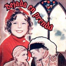Cine: SHIRLEY TEMPLE : DEJADO EN PRENDA (BIBLIOTECA FILMS). Lote 138953478