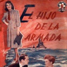 Cine: EL HIJO DE LA ARMADA (BISTAGNE). Lote 138953590
