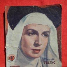 Cine: REINA SANTA, NOVELA EDIC. BISTAGNE, MARUCHI FRESNO, 70 PÁG.. Lote 138993698
