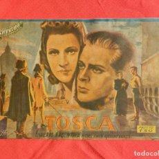 Cine: TOSCA, NOVELA CINEVIDA, IMPERIO ARGENTINA MICHEL SIMON, 12 PÁG.. Lote 139106570