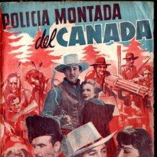 Cine: GARY COOPER : POLICÍA MONTADA DEL CANADÁ (BISTAGNE). Lote 141190114