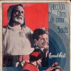 Cine: GUILLERMO TELL (ALAS, 1934) ARGUMENTO Y FOTOS DEL FILM FILMOFONO. Lote 141539870