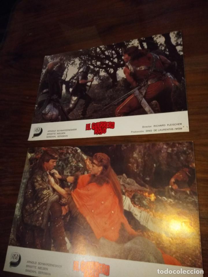 COLECCION DE 5 FOTO FILMS DE CINE : EL GUERRERO ROJO ( ARNOLD SCHWARZENEGGER & BRIGITTE NIELSEN ) ) (Cine - Foto-Films y Cine-Novelas)